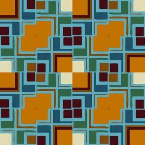 Russet Mondrianesque