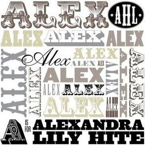 Alexandra (Custom-5/yd)