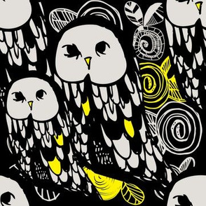 00_OwlCord_BLACK_WHITE_Yellow
