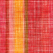 Linen Stripe in Hot Pepper