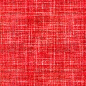 Linen in Cayenne Red