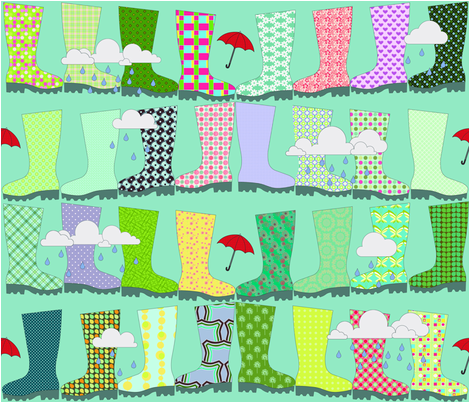 splishy splash fabric by cornie on Spoonflower - custom fabric
