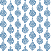 blockprintflowerblue