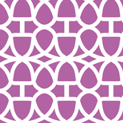 Radiant Orchid Geometric