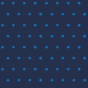dots cornflower