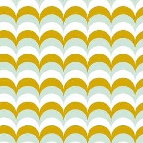 Mint Golden Waves