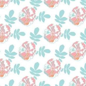 Single Rugosa Flower - White