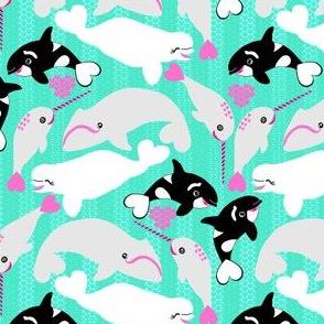 Kawaii Whales
