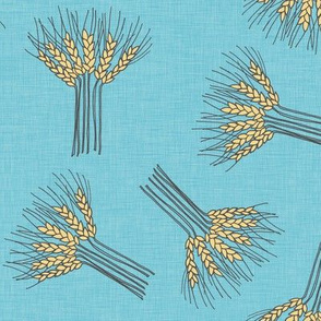 Wheat (in Sky Blue)