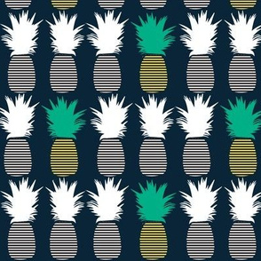 pop art pineapple ©2016 Jill Bull