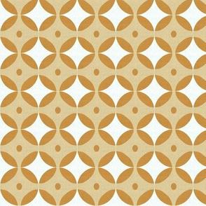 Gold Tone Dots