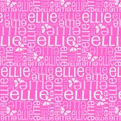 Personalised Name Design - Dk Pink Butterflies