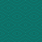Teal Star Kaleidoscope