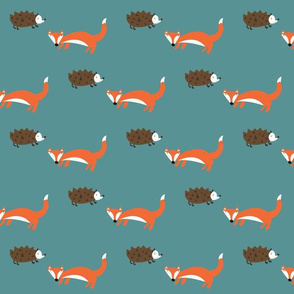 Hedgehog Fox