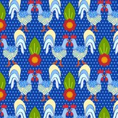 Rroosters_on_linen_blue_polka_dot-1_shop_thumb