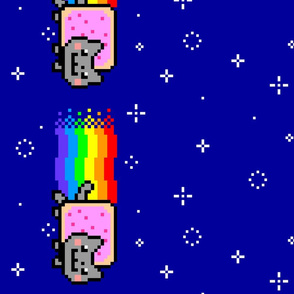 Nyan Cat Re-Pixeled - Long