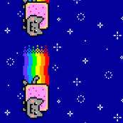 Nyan Cat Long x2