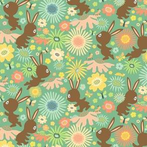 Meadow Bunnies: Chocolate Mint
