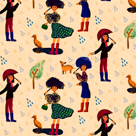 Blustery fabric by susan_polston on Spoonflower - custom fabric
