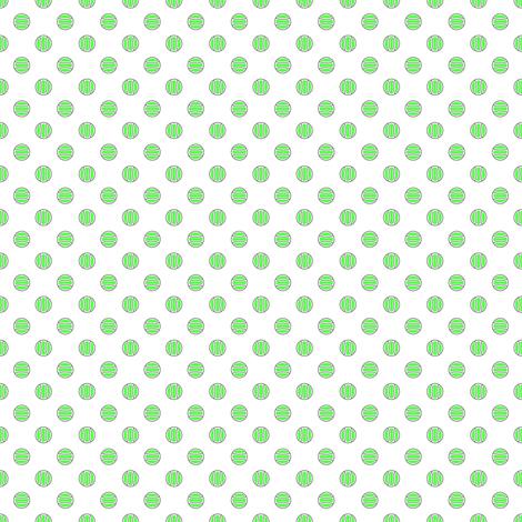 Tennis Balls Set 1 fabric by mag-o on Spoonflower - custom fabric