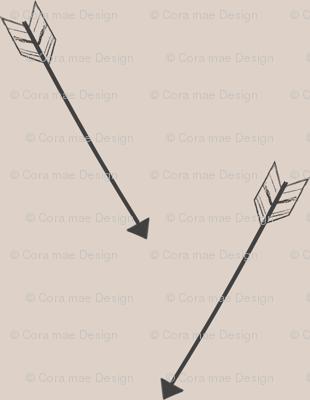 Large print arrows
