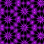 Purple Star Burst