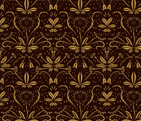 Sunflowers___rococo_gold_on_senart_shop_preview