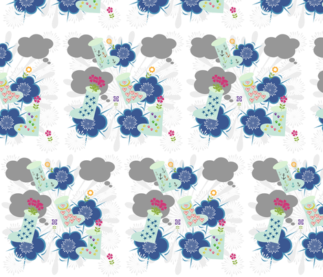 splashing around  fabric by drapestudio on Spoonflower - custom fabric