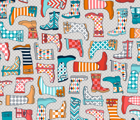Wondrous_Wellies fabric by anderson_lee on Spoonflower - custom fabric