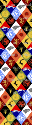 Game of Thrones Sigils Marquee