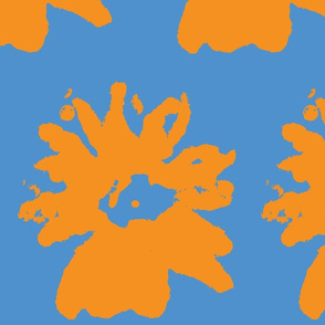 Daisy bluezy orange