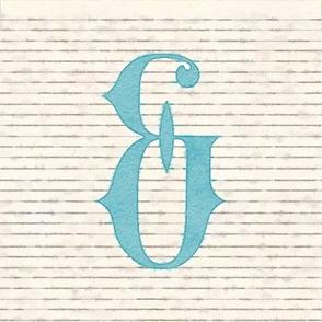 Vintage Watercolor Ampersand