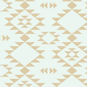 Navajo - Golden brown - Light Mint