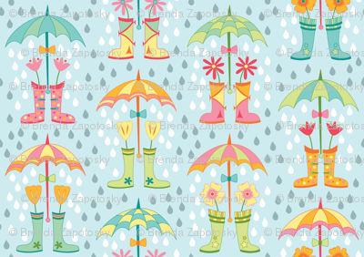 Raindrops and Rainboots