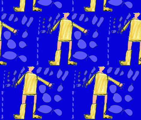 Raindrop Boots fabric by serenity_ii on Spoonflower - custom fabric