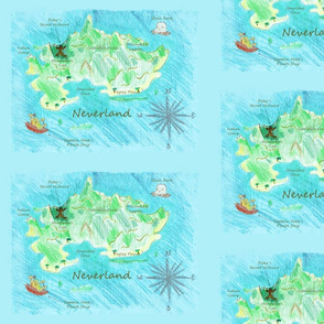 Neverland Map