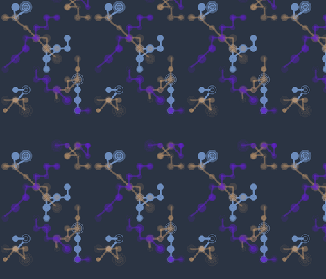 weird science fabric by lathenson on Spoonflower - custom fabric