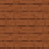 Minecraft Acacia Planks - Large