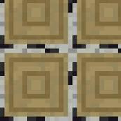 Minecraft Birch cut logs - Large