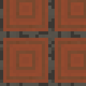 Minecraft Acacia logs - Large