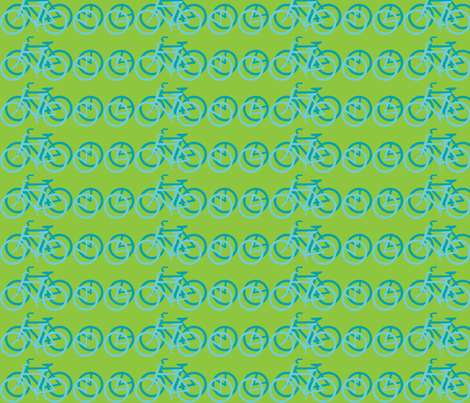I_Want_to_Ride_My_Bicycle_green and blue