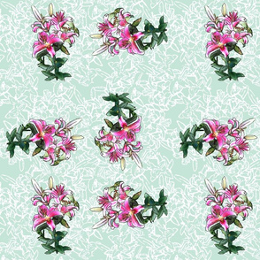 lilies_in_pinwheel_lt_green_and_white_lily_pattern_L