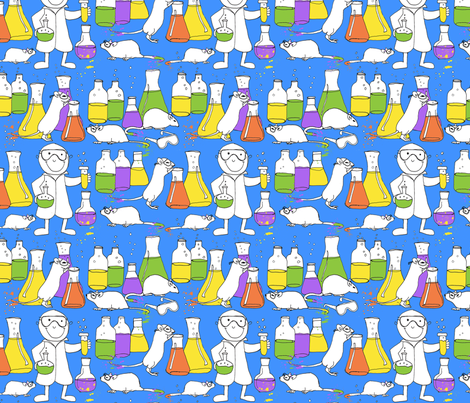 lab partners fabric by weejock on Spoonflower - custom fabric