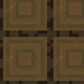 Minecraft Spruce Cut Logs - Large