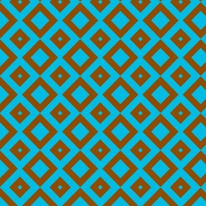 boxes brown-blue
