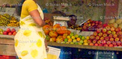 Torso at Fruit Stand, Chennai