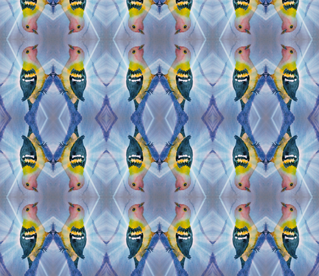 Morning song fabric by suebee on Spoonflower - custom fabric