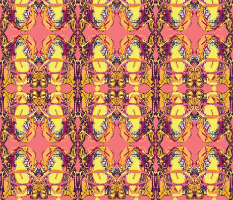 Kathedrale Tourmaline fabric by albanianflower on Spoonflower - custom fabric
