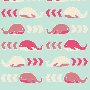 Whales & Chevrons
