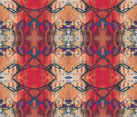Summer reds fabric by suebee on Spoonflower - custom fabric